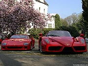 Ferrari F40 & Enzo Ferrari -Jagdschloss de Mookerheide