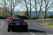 Ferrari Club Neuseeland Fun Run Mai 2006