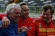 Brian Redman, Jacky Ickx, Uwe Meissner