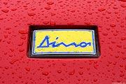 Ferrari Dino Logo - red
