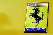 Ferrari Logo - NART - gelb
